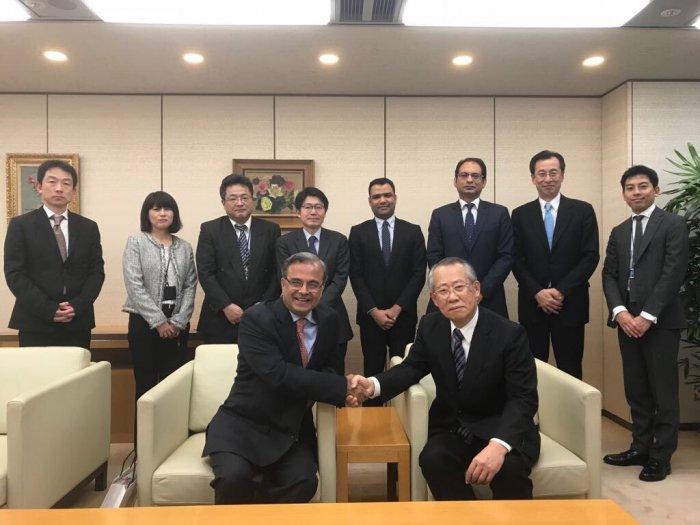 Visit to NHK