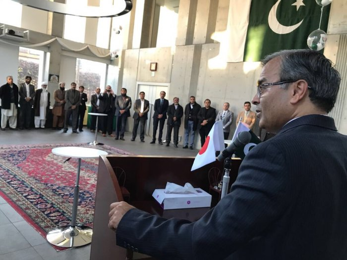 Ambassador Khan had a New Year's meet and greet with Pakistani community members at the Embassy and briefed them on recent important developments in the bilateral relationship.