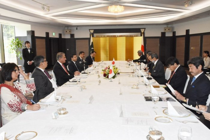 Foreign Minister's Luncheon Meeting with Japan Pakistan Business Cooperation Committee (JPBCC)