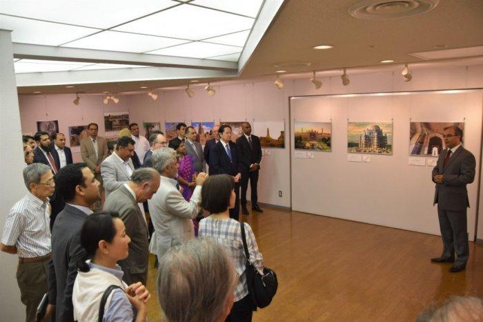 Photo Exhibition on Pakistan held at Takanawa Civic Centre