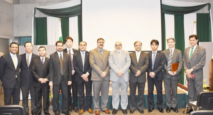 "Co-organized Seminar on ""Emerging Trade & Investment Opportunities in Pakistan"" at the Embassy"
