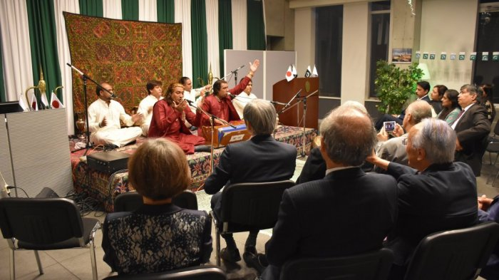 QAWALI NIGHT AT EMBASSY OF PAKISTAN, TOKYO