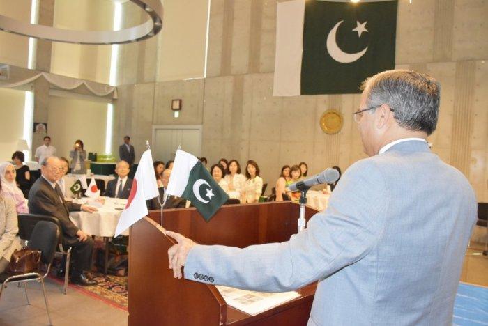 Organized a Pakistani Food Cooking Workshop at the Embassy with International Friendship Exchange Council (FEC). FEC members led by President Matsuzawa and Amb Yushita enjoyed cooking & eating Pakistani food.