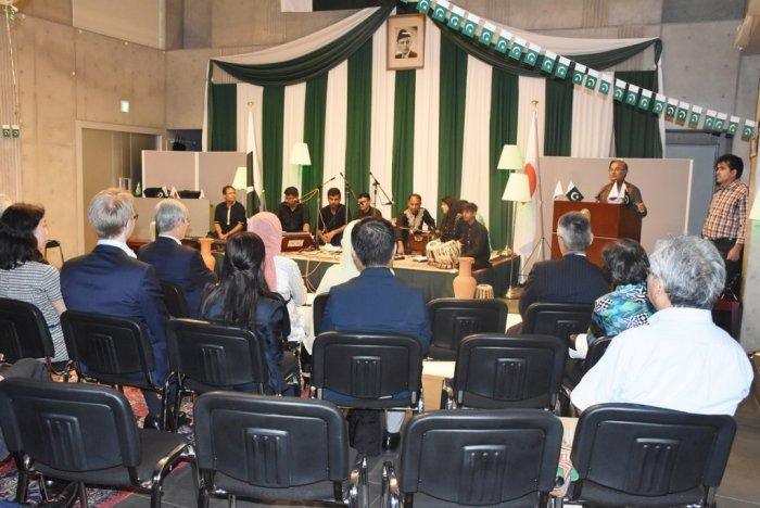 Sufi Qawali Night in Pakistan Embassy, Tokyo