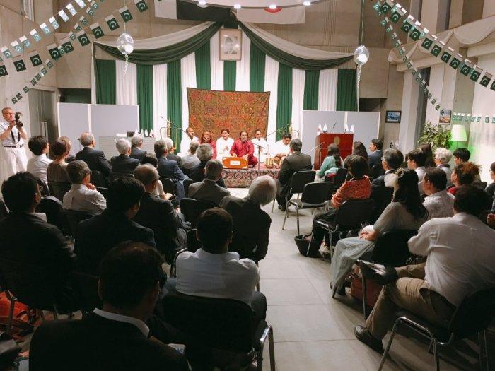QAWALI NIGHT AT EMBASSY OF PAKISTAN, TOKYO