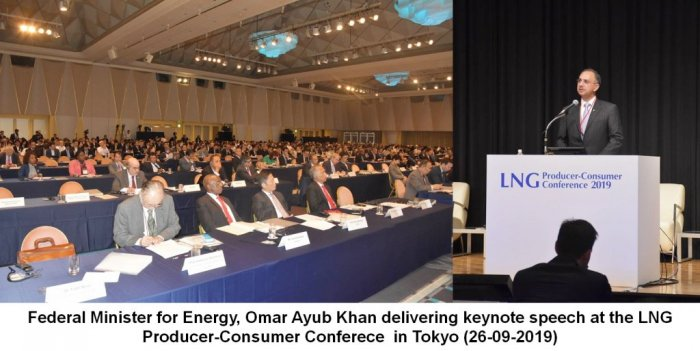 Federal Minister for Energy Mr. Omar Ayub Khan attends the LNG Producer Consumer Conference at Tokyo