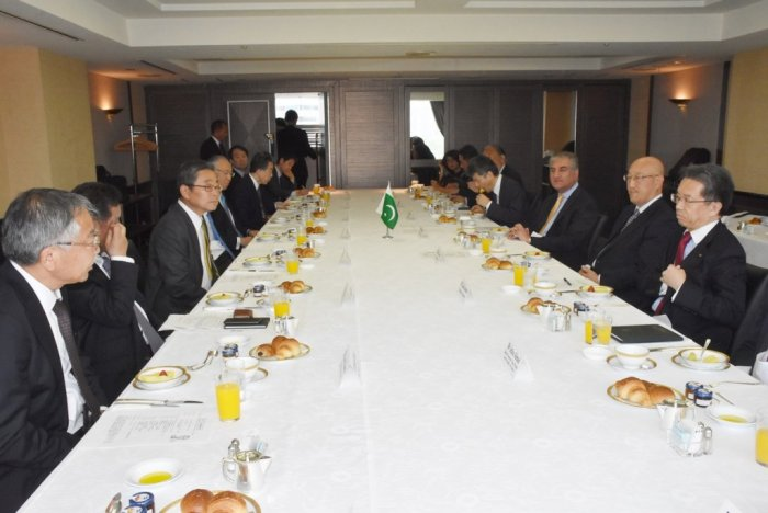 Foreign Minister's interaction with  the experts of Japan Institute of International Affairs (JIIA)